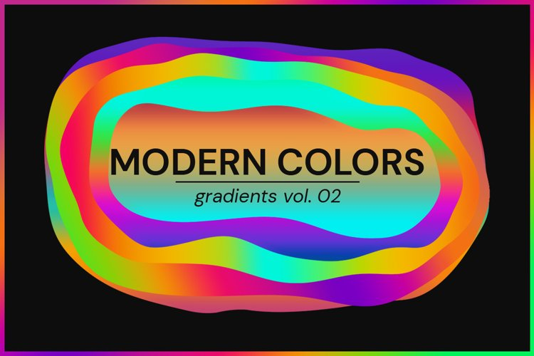 Modern Colors - Gradients Vol. 02 example image 1