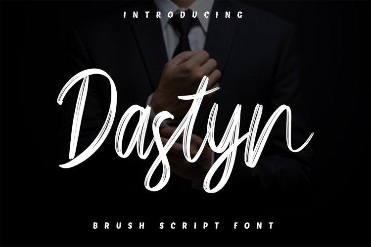Dastyn - Brush Script Font example image 1