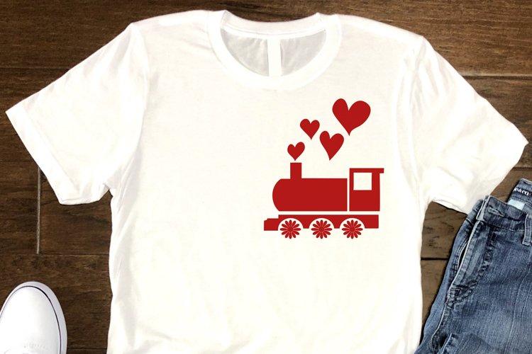 Valentines Vintage Train SVG Valentines Day, Love Quotes SVG
