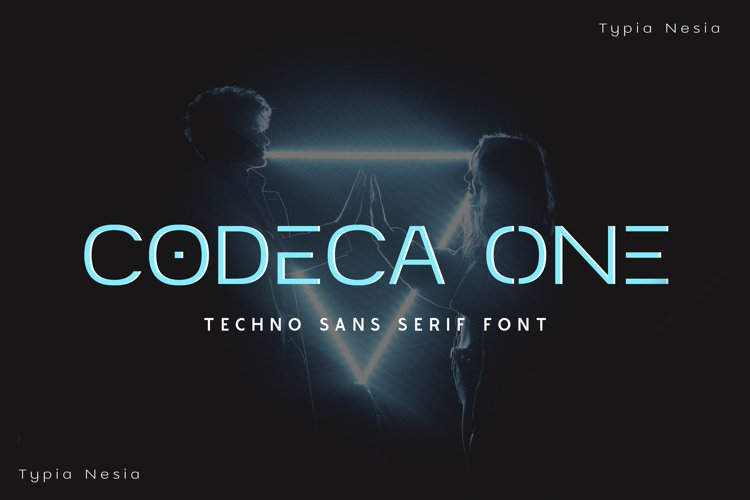 Codeca One - Techno Sans example image 1