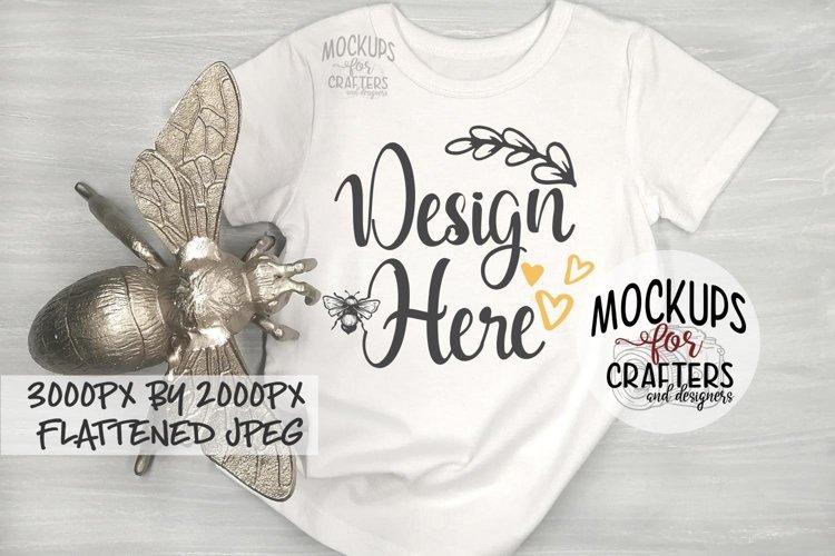 T-Shirt, Bee theme, Mock-Up example image 1