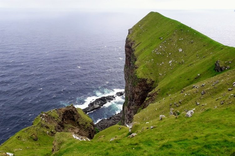 Nature pictures Sea view 2 Faroe Islands example image 1