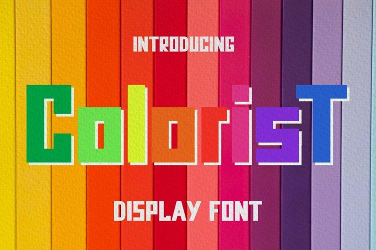 Colorist Font