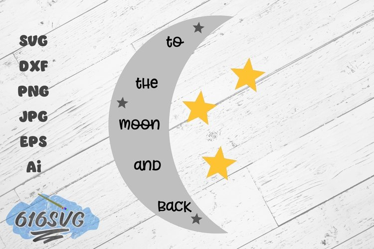 To The Moon and Back Laser Design example image 1
