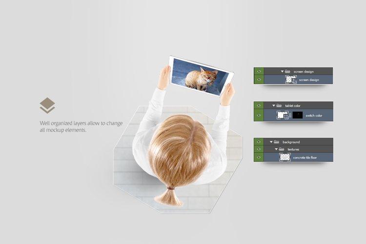 Tablet Mockup - Free Design of The Week Design2