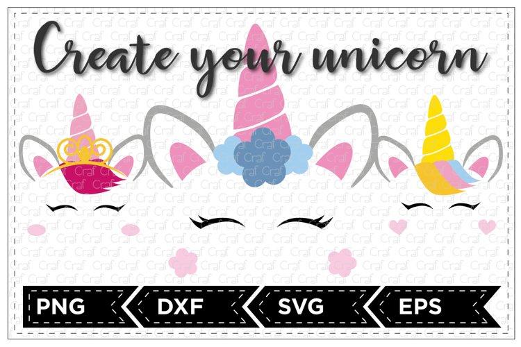 Create your unicorn set example image 1