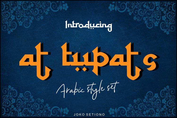 at tupats- arabic stalys set example image 1