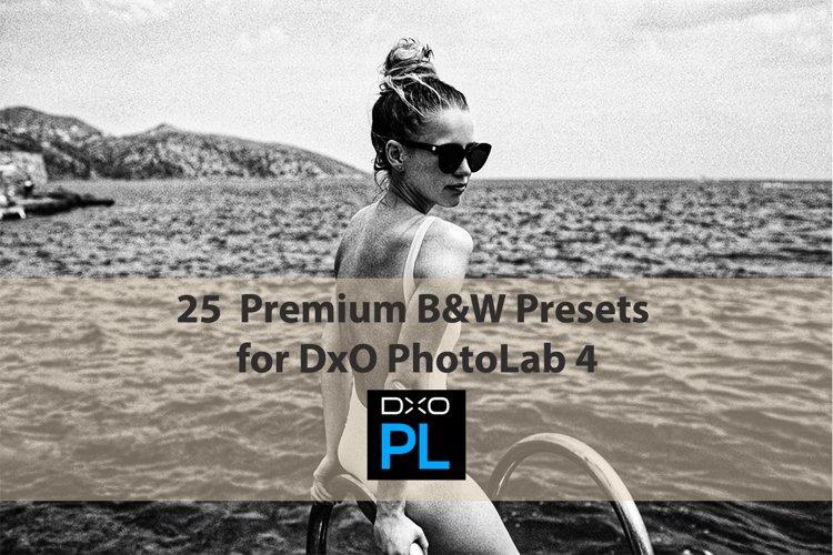 25 Premium B&W Presets for DxO PhotoLab 4 example image 1