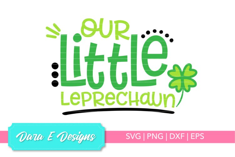 Little Leprechaun SVG | St Patricks Day SVG | Luck Shirt Des example image 1
