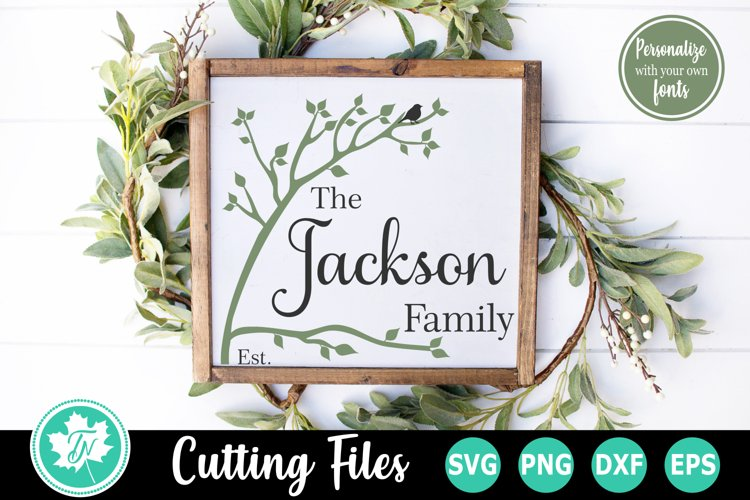 Family Tree SVG | Family Name SVG | Family Sign SVG