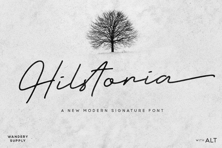 Hilstoria Signature example image 1