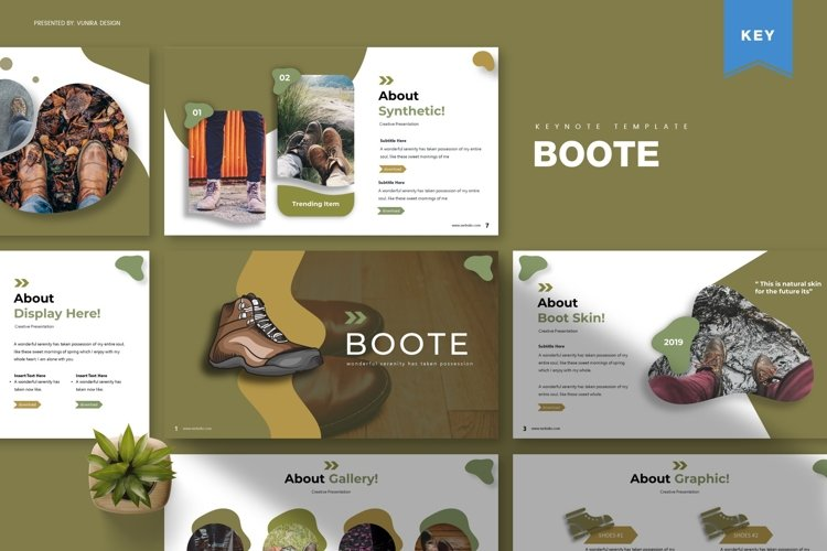 Boote | Powerpoint, Keynote, Google Slides Template example image 1