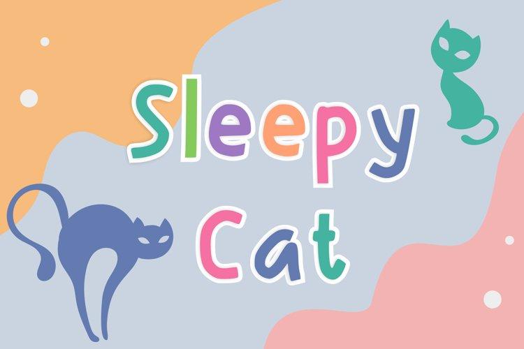 Sleepy Cat example image 1