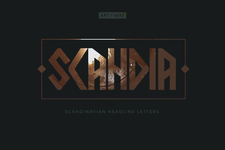 Scandia Headline Font example image 1