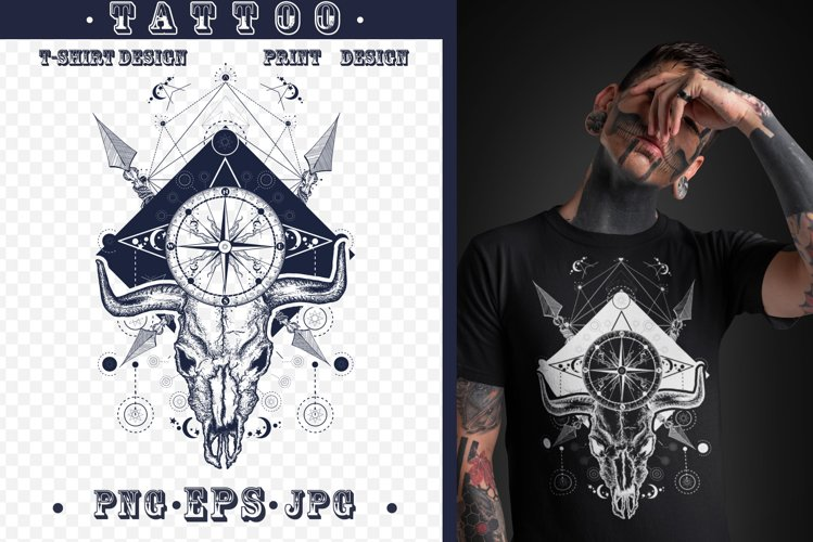 Wild West tattoo example image 1