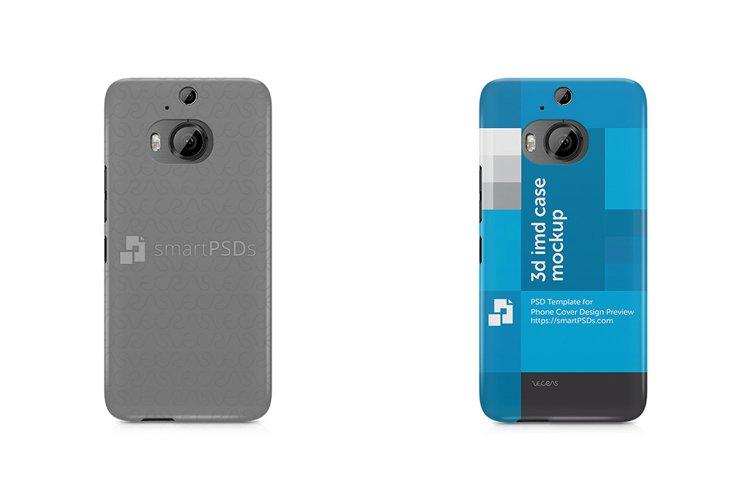 HTC One E9 Plus 3d IMD Mobile Case Design Mockup 2015 example image 1