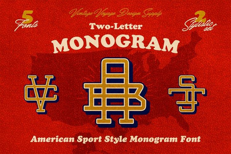 Two-Letter Monogram