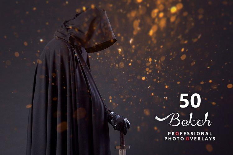 50 Halloween Bokeh Photo Overlays example image 1