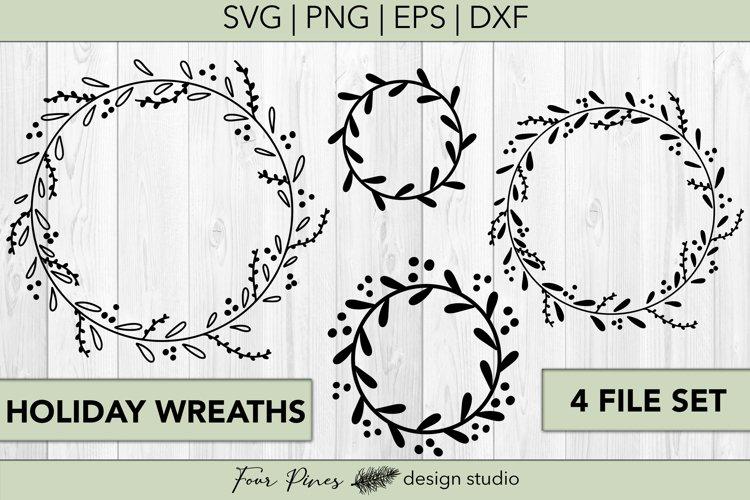 Holiday Wreath Set