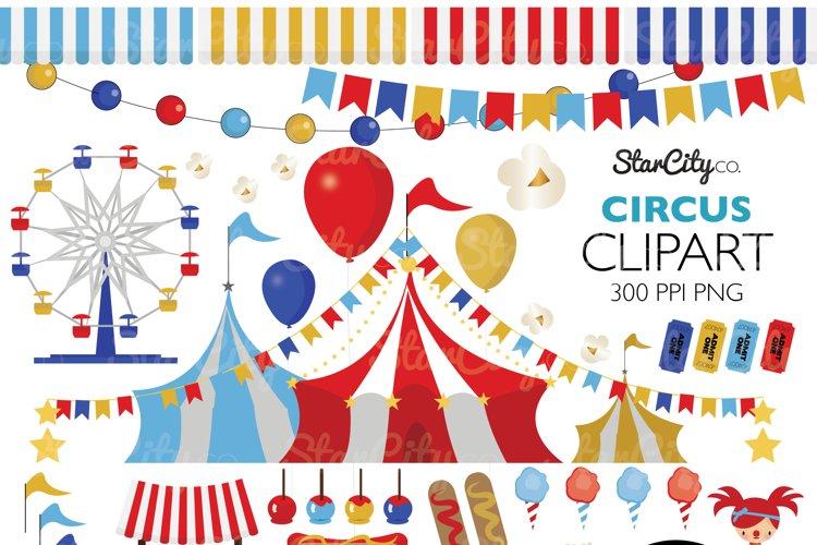 Circus Clip art example image 1