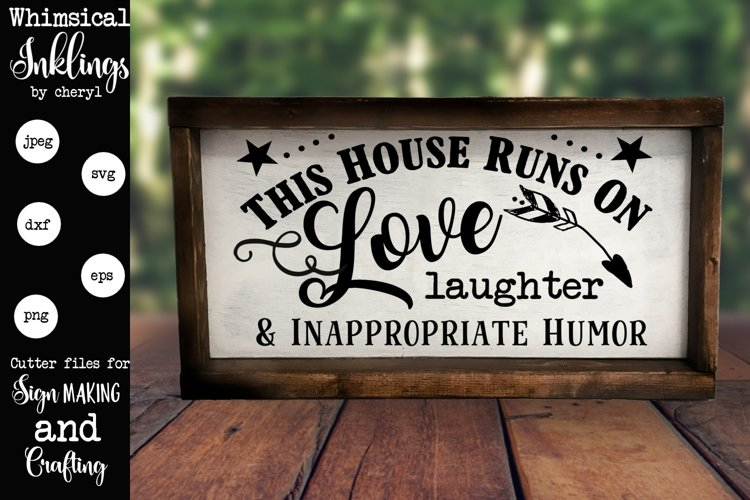 This House Runs On SVG example image 1