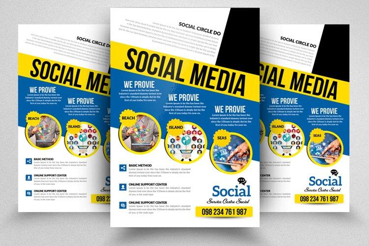 Social Media Marketing Flyer example image 1