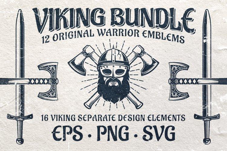 Viking Emblem Bundle example image 1
