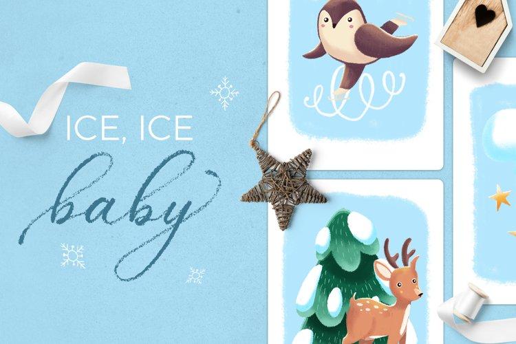 Ice Ice Baby winter scene creator