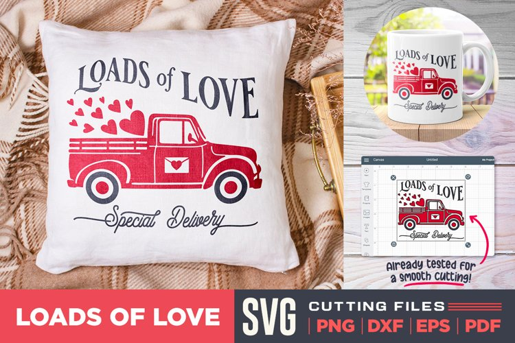 Loads of Love SVG | Valentines Quote SVG