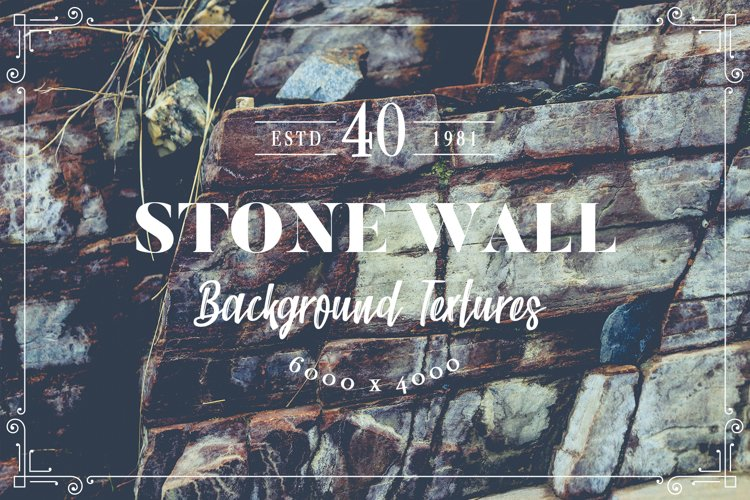 40 Stone Wall Background Textures example image 1