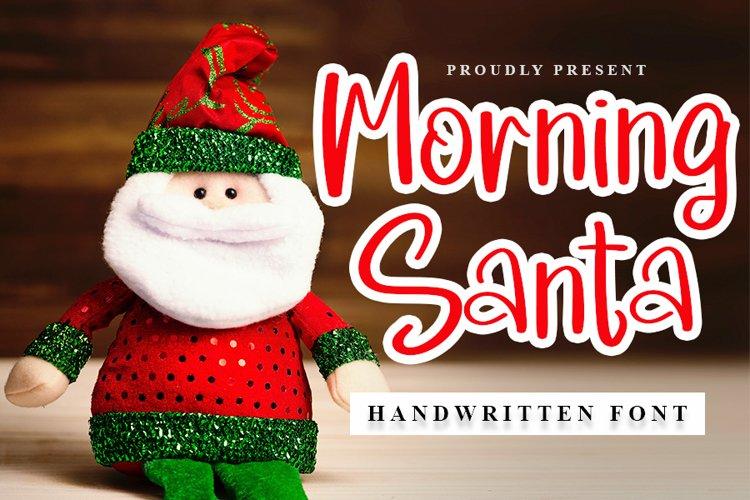 Morning Santa example image 1
