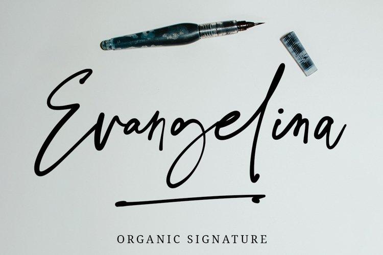 Evangelina Signature