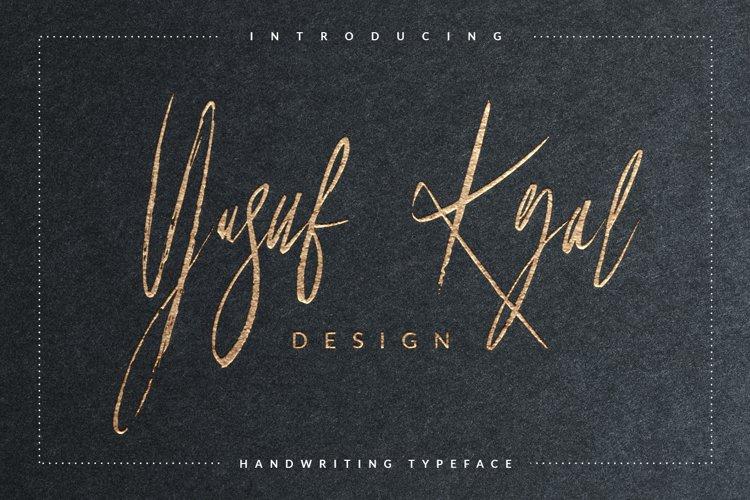 Yusuf Kral Art Font