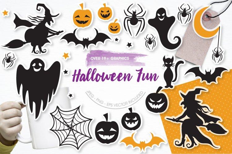 Halloween Fun graphics and illustrations