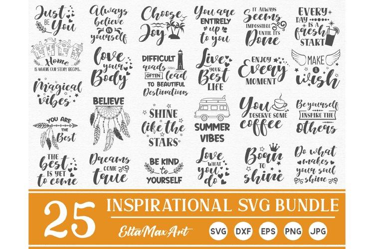 Inspirational quotes SVG Bundle, sayings svg, Cut File