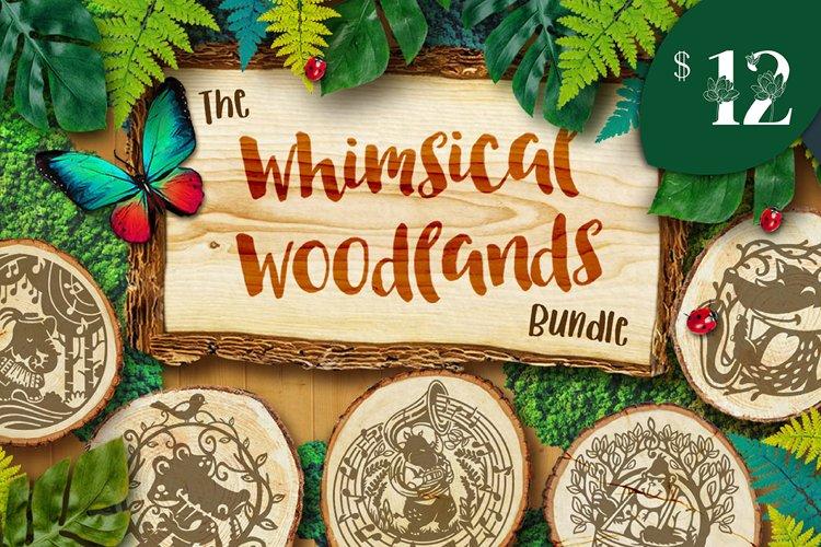 The Whimsical Woodlands Bundle example image 1