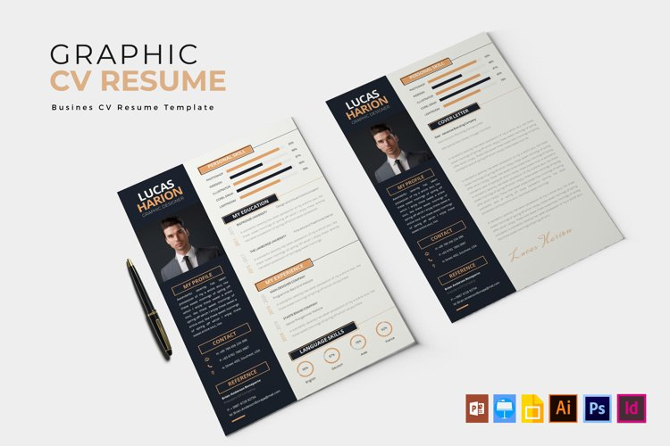Graphic Layouter | CV & Resume example image 1