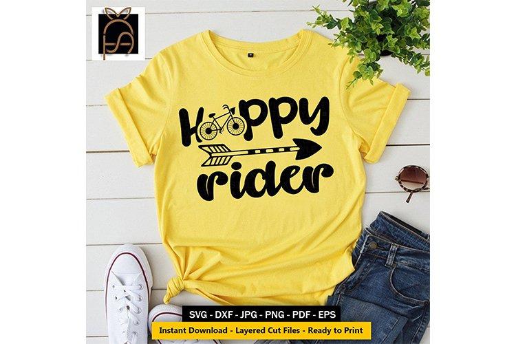 Happy Rider - Biycle Life - Riding SVG DXF EPS PN
