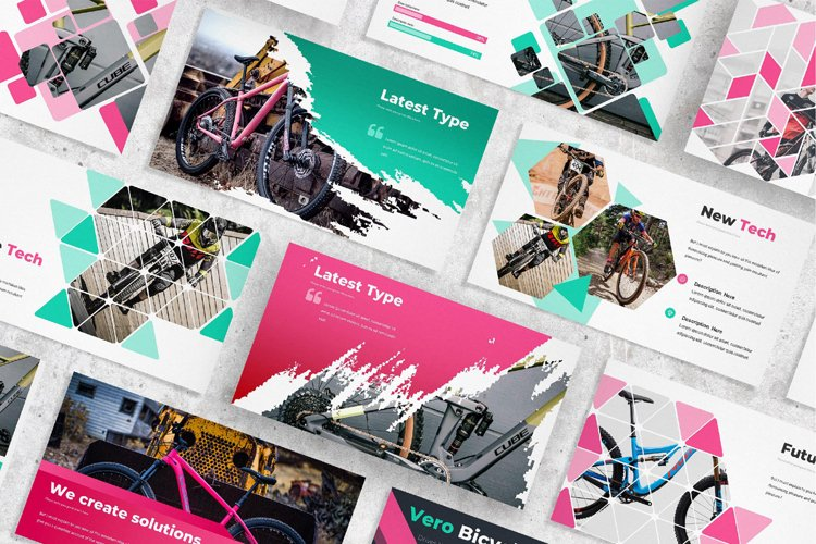 Vero Bike Presentation Template