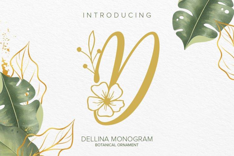 Dellina Monogram example image 1