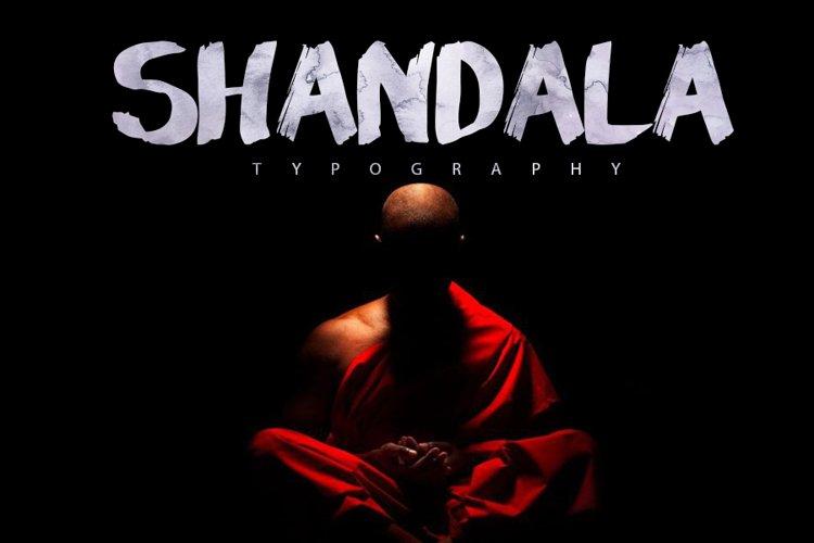 Shandala Brush Typeface example image 1