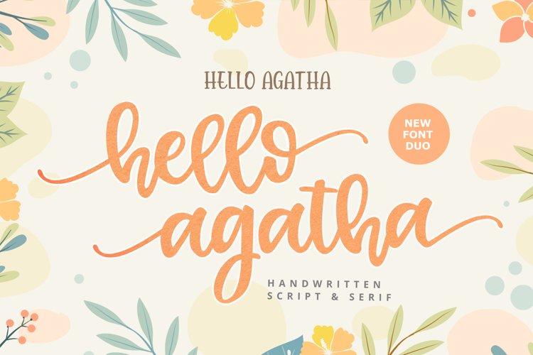Hello Agatha example image 1
