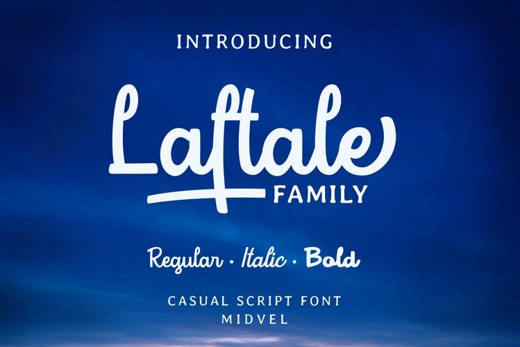 Laftale Family bundles - 3 styles font