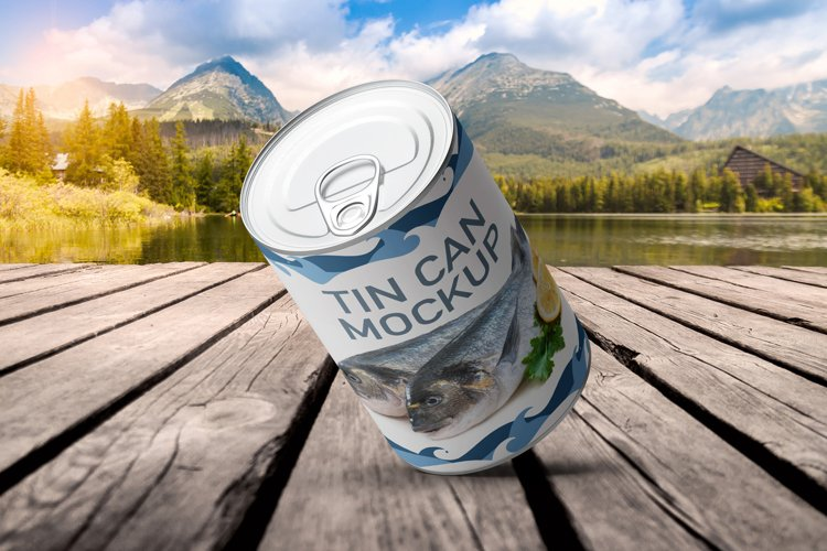 Tin Can Mockup example image 1