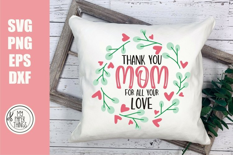 Mother's day svg, Mom life svg example image 1