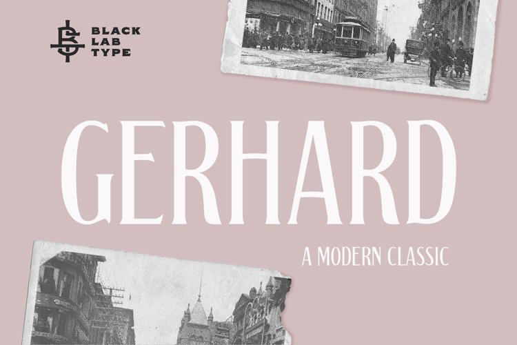 Gerhard - A Modern Classic Font example image 1