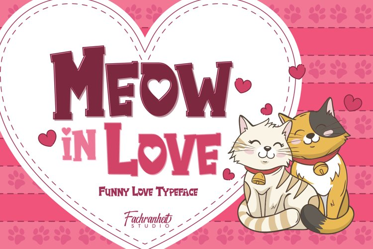 Meow in Love example image 1