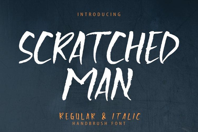 Scratchedman Font example image 1