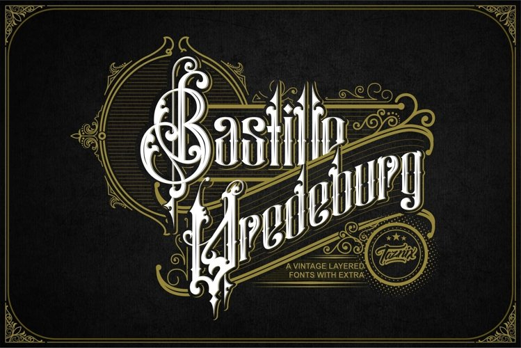 Bastille Vredeburg Vintage Layered Extra example image 1