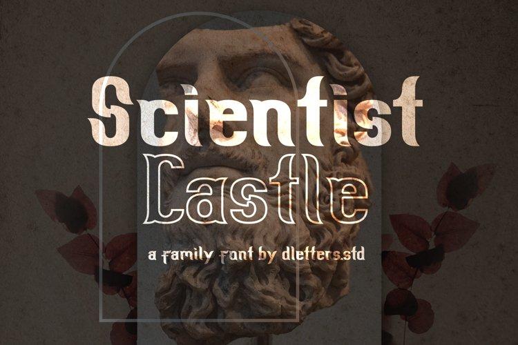 Scientist Castle - Family Slab Serif Font example image 1